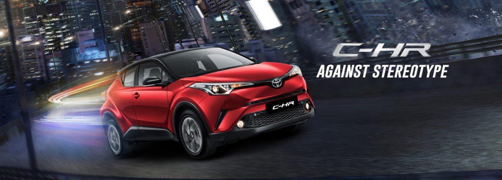Toyota Malang Dealer RESMI Spesifikasi Eksterior Interior CHR Hybrid
