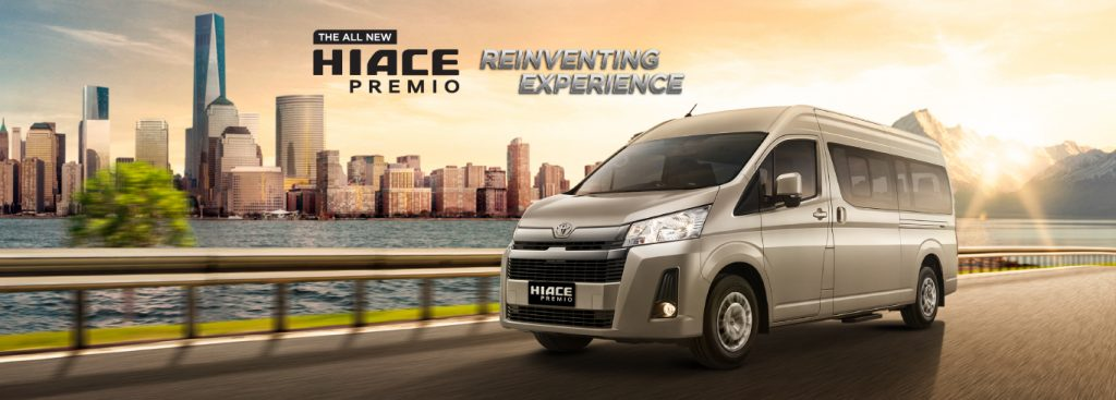 Toyota Malang Dealer RESMI Spesifikasi Eksterior Interior HiAce Premio