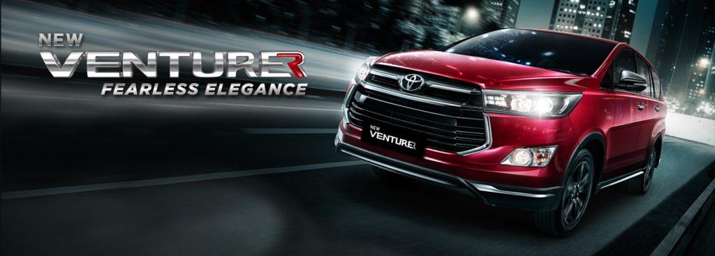 Toyota Malang Dealer RESMI Spesifikasi Eksterior Interior Innova Venturer